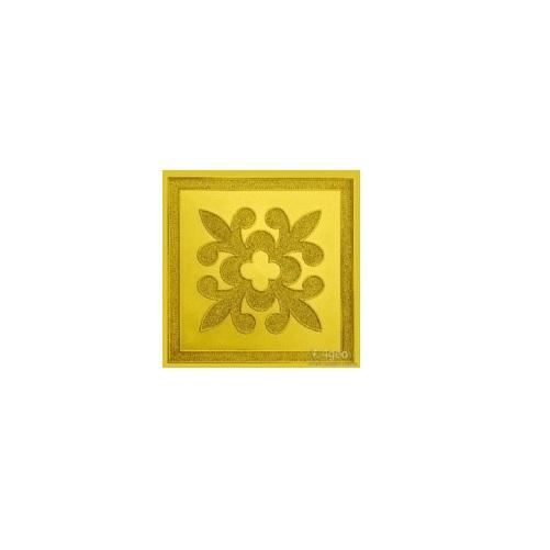 Тротуарная Плитка Клевер Желтый