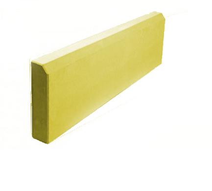 Бордюр Желтый 50мм