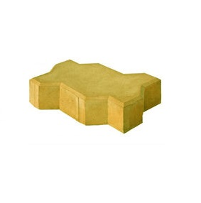Брусчатка Волна Желтая, 45мм